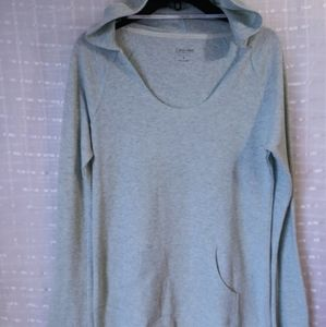 Calvin Klein Quick-Dry Long Sleeved Hooded Thermal
